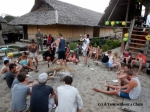 A BBQ to celebrate Australia Day in Pai