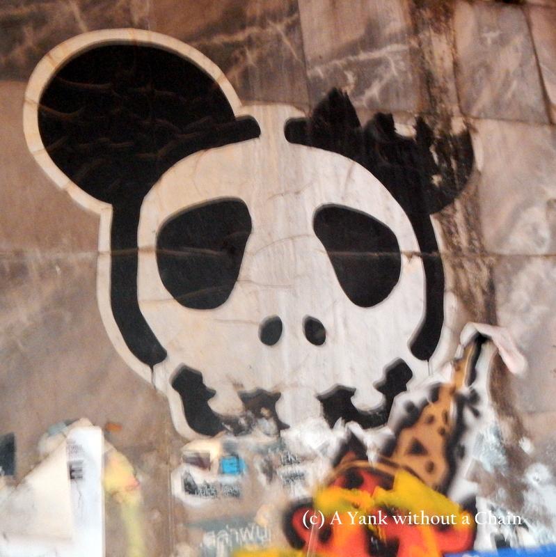 Chiang Mai Street Art Panda