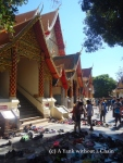 The entrance to Wat Phra That Doi Suthep