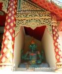A statue of the Hindu God Ganesha at Wat Phra That Doi Suthep