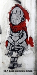 Chiang Mai Street Art Little Red Riding Hood