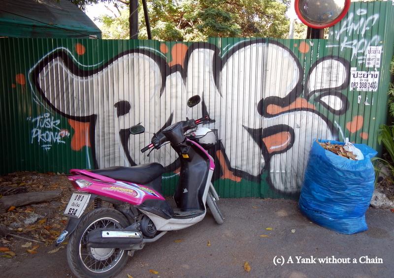 Chiang Mai Street Art POAS 3