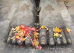 The Buddha's feet at Wat Saphan Hin