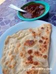 Roti Canai is a popular breakfast dish