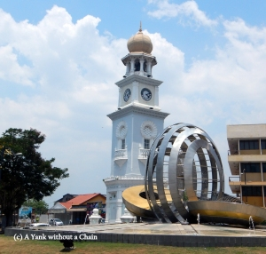 The Queen Victoria Clock Tower Memorial in George Town, Penang