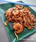 Char Kuey Teow reminded me a bit o Pad Thai, but much richer and more flavorful