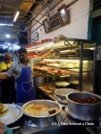 Standing in line at Line Clear restaurant in George Town, waiting for Nasi Kandar