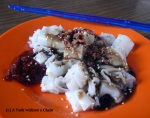Chee Cheong Fun is about as fun to eat as it is to say! Rice noodles covered with a variety of flavorful sauces