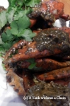 Some delicious black pepper crab at Jumbo Seafood in Singapore