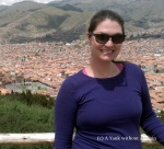Looking out over Cusco, Peru. You can see the Plaza de Armas in the background!