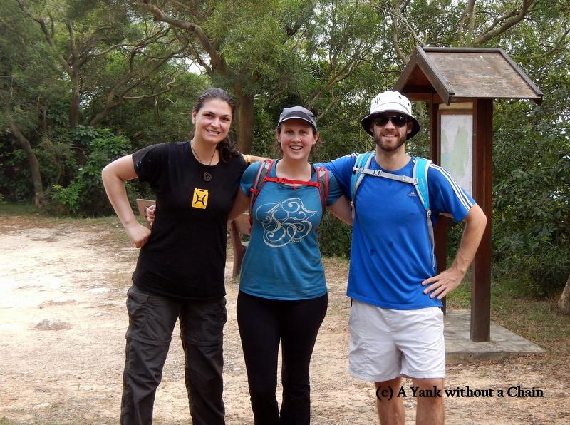 Hiking with Jane and James on Lantau Island!