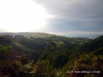 A view of the hills beside the Great Ocean Road