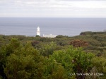 The lighthouse at Cape Otway - the oldest lighthouse on mainland Australia
