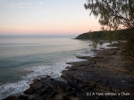 Sunset viewed from Noosa National Park