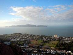The view of Magnetic Island from Castle Hill