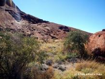 Uluru viewed from the base walk