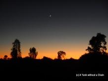 The sun rising the next morning over Uluru-Kata Tjuta National Park