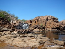 Upper Pool at Edith Falls