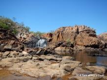 Upper Pool at Edith Falls