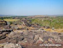 The view of Kakadu National Park from Ubirr