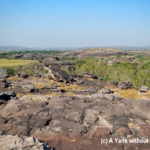 The view of Kakadu National Park from Ubirr
