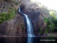 The swimming hole at the bottom of Wangi Falls