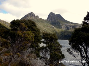 Cradle Mountain viewed from the Dove Lake walking circuit