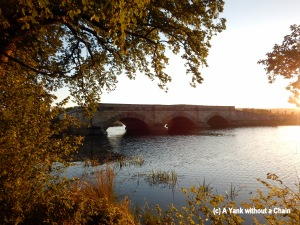 Ross Bridge at sunset