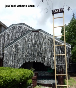 The infamous Beer Can House in Houston, TX