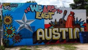 A mural in East Austin